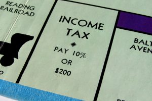 income tax - monopoly image