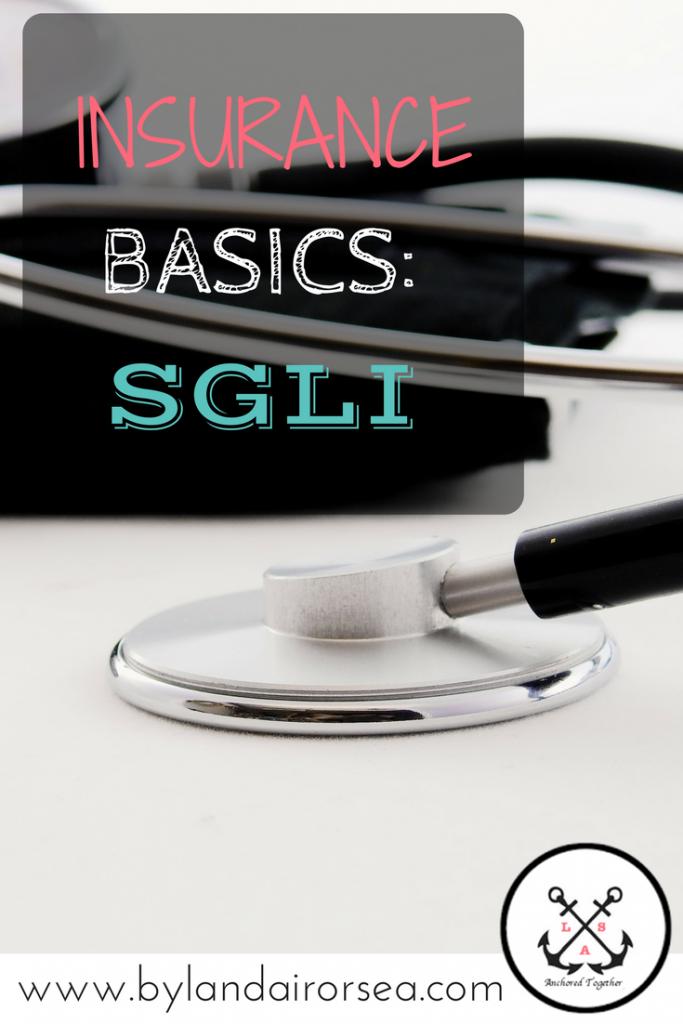 The Basics on SGLI