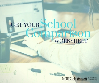 School Comparison Worksheet