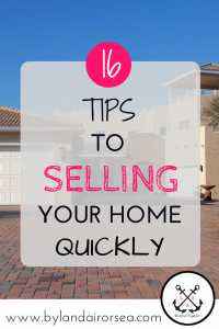 16 Tips to Selling Your Home