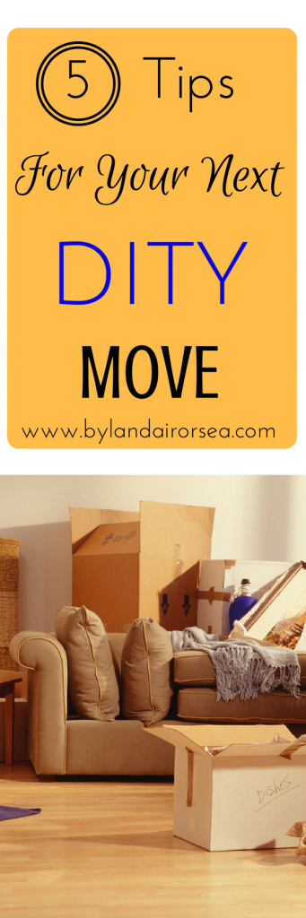 Tips for DIY Moves