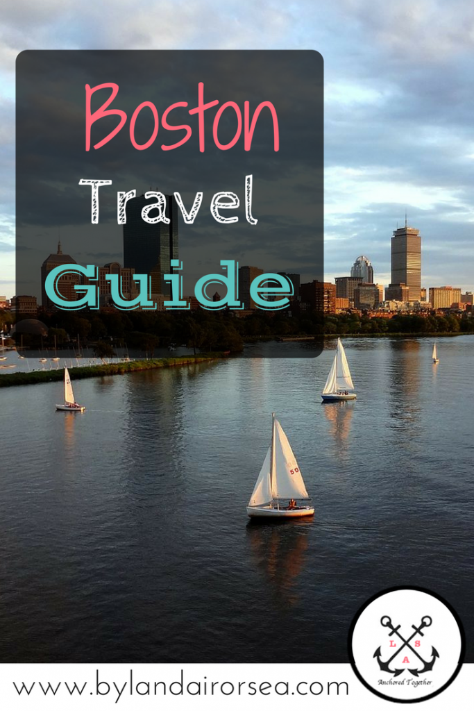 Pinterest Pin Boston Travel Guide