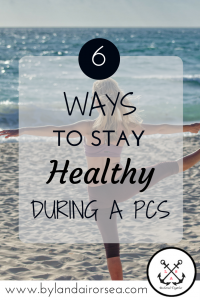 Healthy Tips for a PCS Move