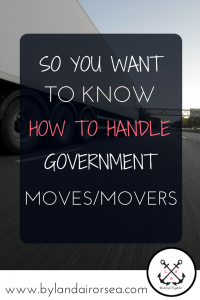Government Moves/Movers