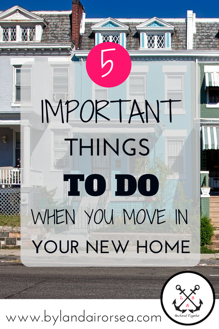 Changes to Your Home