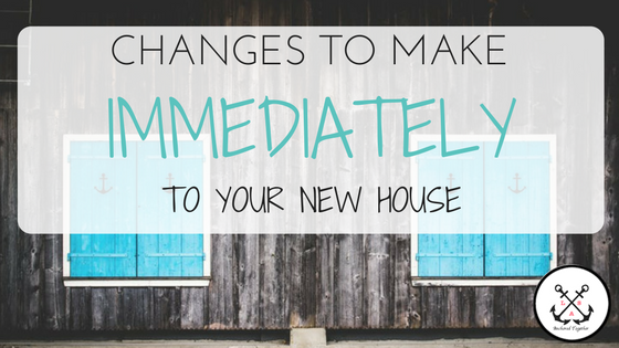 New Home Changes