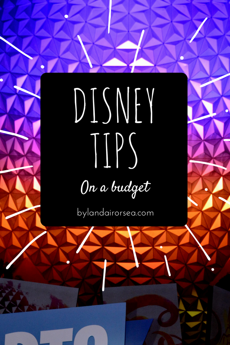 Disney Tips on a Budget