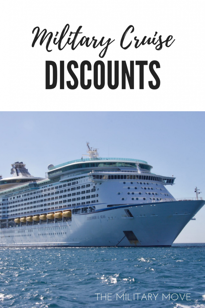 Military Cruise Discounts